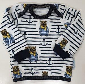 Babyshirt Hipsterbär - Omilich