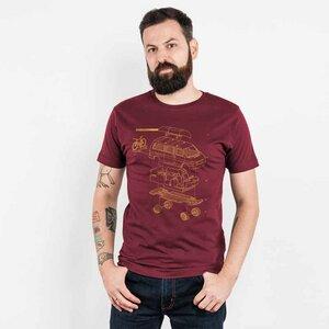 Julius Muschalek - Vanlife T4 - Mens Low Carbon Organic Cotton T-Shirt - Nikkifaktur
