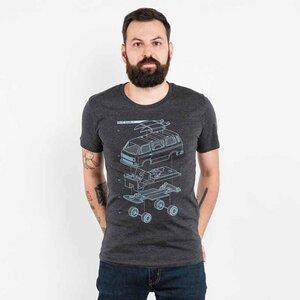 Julius Muschalek - Vanlife T3 - Mens Low Carbon Organic Cotton T-Shirt - Nikkifaktur
