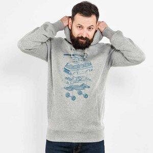 Julius Muschalek – Vanlife T3 - Organic Cotton Unisex Hoodie - Nikkifaktur