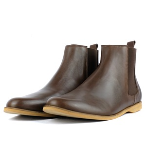 '88 Leder Chelsea Boots in Braun - SORBAS