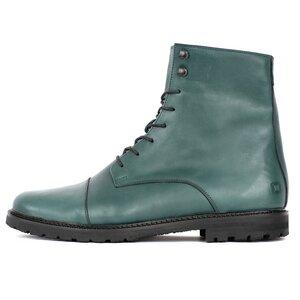 '94 Leder Stiefel Green - SORBAS