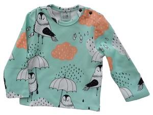 IGI Langarmshirt Shirt Mädchen mit Rainbirds - igi natur