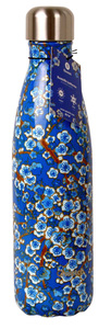 Qwetch Trinkflasche 500 ml - blue flowers - Qwetch