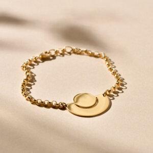 Armband Fenland, vergoldet - macimo