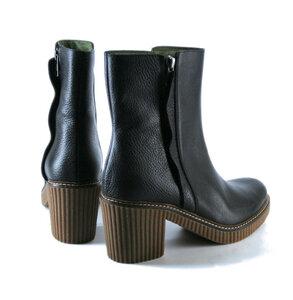 Absatz-Boots, schwarz - Jonnys