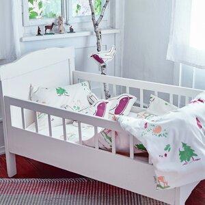 Kinderbettwäsche waldtiere für Wiege und Kleinkindbett - ingegerd