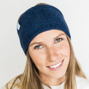 Stirnband Deep Blue aus Bio Baumwolle - vegan - in 3 Varianten - obumi