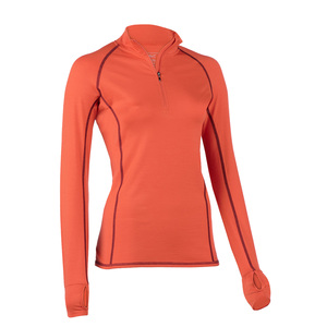 Damen Lauf-Shirt/ Zip-Shirt - ENGEL SPORTS