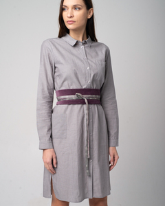Chambray Dress - Baumwoll Kleid - Alma & Lovis