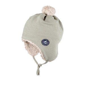 pure pure Baby und Kinder Bommel-Mütze reine Bio-Baumwolle - Pure-Pure