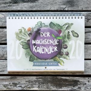 Wandkalender - Vergessene Sorten 2020 - ingegerd Ökolifestyle