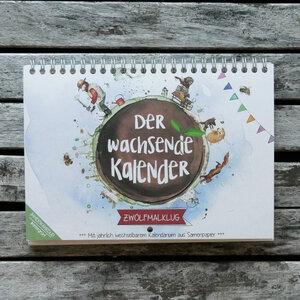 Der wachsende Kalender für Kinder - Zwölfmalklug 2020 - ingegerd Ökolifestyle