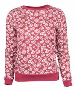 Sweater aus Hanf mit Blumenprint - Uprise