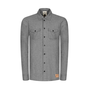 Flannel Shacket Grey - bleed clothing GmbH