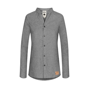 Flannel Shirt Ladies Grey - bleed clothing GmbH