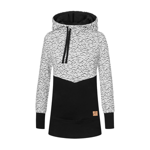 Mountain&Waves Hoody Ladies Black - bleed clothing GmbH