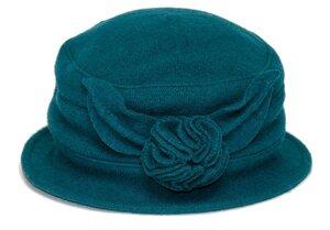 SILKROAD Cloche Damenhut ANNA - Hut aus 100% Wolle - 20er Jahre Stil - Silkroad - Diggers Garden