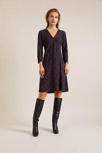 Lanius - Feminines Wickelkleid aus Bio Baumwolle mit Tencel Modal - LANIUS