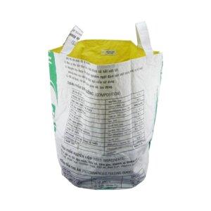 Wäschesack Wash it aus Zement- und Reissack - Upcycling Deluxe