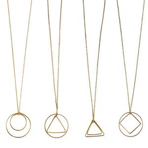 Halskette Shapes, Messing - ting goods