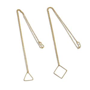 Halskette Single Shape, Messing - ting goods
