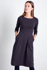 Kleid Punkte - Tamsin Dress - Inked Spot Magpie - Seasalt Cornwall