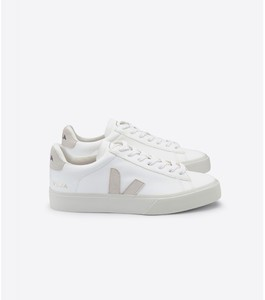 Sneaker Damen - Campo Leather - White Natural - Veja