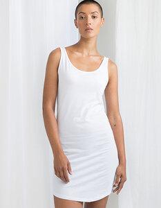 Damen Longshirt langes Tank Top Nachthemd Strandkleid Ärmellos - Mantis