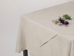 Leinen-Tischdecke mit breitem Rahmensaum - Marschall & Riedler