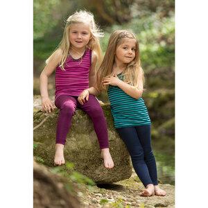 Kinder Achselhemd Bio-Schurwolle/Seide - Engel natur