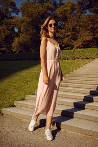 Midi-Kleid Rosy aus Viskose - ME&MAY