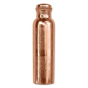 Kupferwasserflasche - Graviert (900 ml) - Forrest & Love