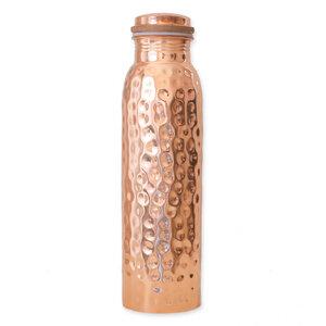 Kupferwasserflasche - Gehämmert (900 ml) - Forrest & Love
