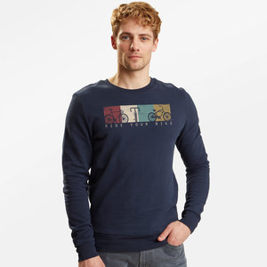 Sweatshirt Wild Bike Ride - GreenBomb