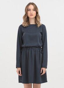 Kleid aus Tencel mit U-Boot-Ausschnitt - ORGANICATION