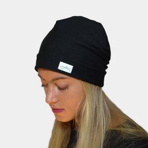 Wintermütze für Damen Made in Germany - Beanie aus Baumwolle - Lou-i