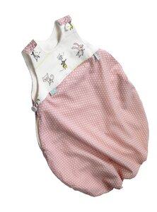Schlafsack wahlweise in blau oder rosa - Ökö-Tex 100 Standard - werkstatt-design