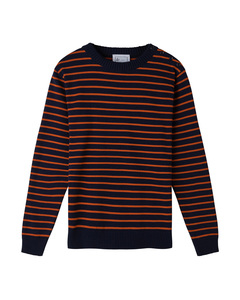 Coastal Stripe Cotton Jumper - Le Pirol