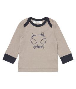 Baby Langarm Shirt * Timber * Fuchs | GOTS | Sense Organics - sense-organics
