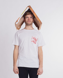 T-Shirt   PizzaPizza   weiß - Degree Clothing