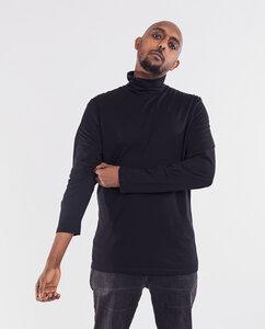 Herren Langarmshirt aus Bio-Baumwolle mit Rollkragen - Rollo  - Degree Clothing