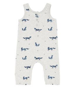 Baby Sweat Overall * Theo Füchse * | GOTS | Sense Organics - sense-organics