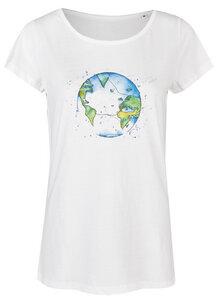 Basic Bio T-Shirt Nr.2 (ladies) Bubble Earth - Brandless