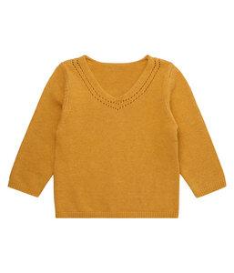 Sense Organics Knitted Sweater senfgelb - sense-organics