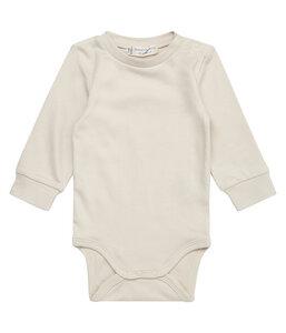 Baby Body Milan langarm unisex beige | GOTS zertifiziert Sense Organics - sense-organics