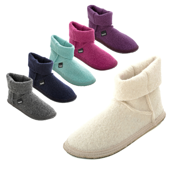 Bacinas Bacinas Hausschuhe Ankle Boots für Damen aus 100% Wolle   Avocadostore