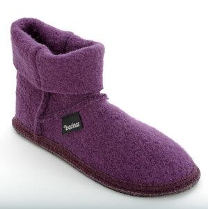 Bacinas Hausschuhe Ankle-Boots für Damen aus 100% Wolle - Bacinas