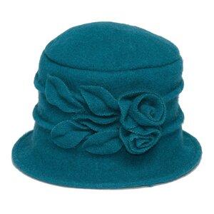 SILKROAD Retro Mütze Filzhut Damen HELENE - Hut aus 100%  Wolle - Silkroad - Diggers Garden