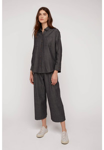 Culotte Hose - Tallulah Herringbone Trousers - People Tree